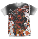 T-shirt Deadpool Deadpool Cards