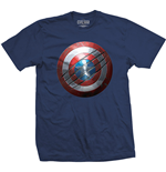T-shirt Marvel Comics - Captain America Civil War Clawed Shield