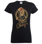 T-shirt Bombshell Justice League Bombshell Canary Badge