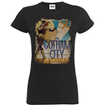 T-shirt Bombshell Justice League Bombshell Batgirl Gotham City Airlines