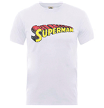 T-shirt Superman Originals Superman Telescopic Crackle Logo
