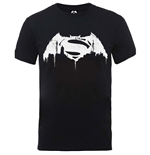 T-shirt Batman v Superman Beaten Logo