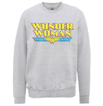 Felpa Wonder Woman Logo Crackle