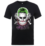 T-shirt Suicide Squad Joker Coloured Smile