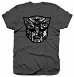 T-shirt Transformers Autobot Shield Black/White