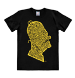 T-shirt I Simpson Homer Head In Words