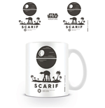 Tazza Star Wars Rogue One Scarif Symbol