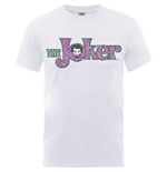 T-shirt Batman Joker Crackle Logo
