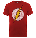 T-shirt Flash Distressed Logo