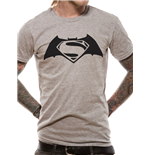 Batman V Superman - Black Logo (T-SHIRT Unisex )
