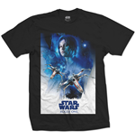 Star Wars - Rogue One Jyn X-WING 01 Black (T-SHIRT Unisex )