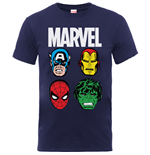 T-shirt Marvel Superheroes 241930