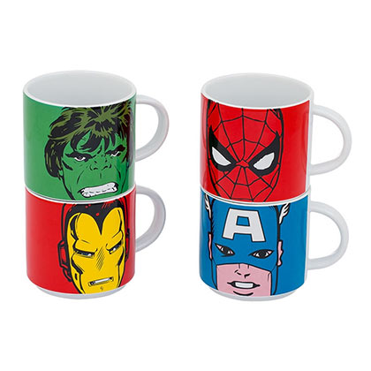Tazza Marvel Superheroes