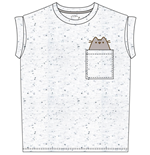 T-shirt Pusheen Pocket Pusheen