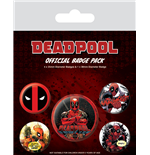 Deadpool (Pin Badge Pack)