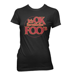 Foo Fighters - IT'S Ok I'M With The Foos (T-SHIRT Donna )