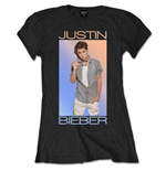 Justin Bieber - Colour Fade (T-SHIRT Donna )