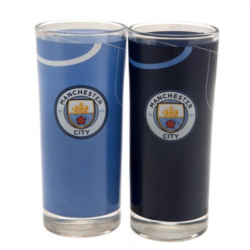 Set Bicchieri da cocktail Manchester City