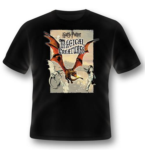 T-shirt Harry Potter Magical Creatures Dragon