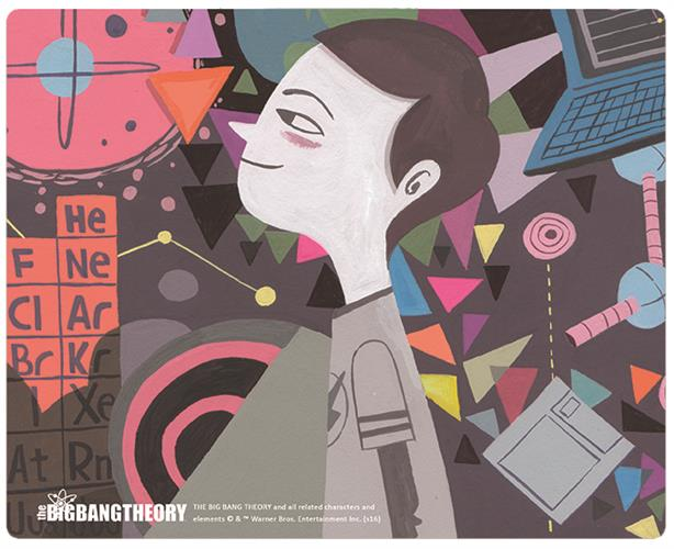Mouse Pad SHELDON'S Dream
