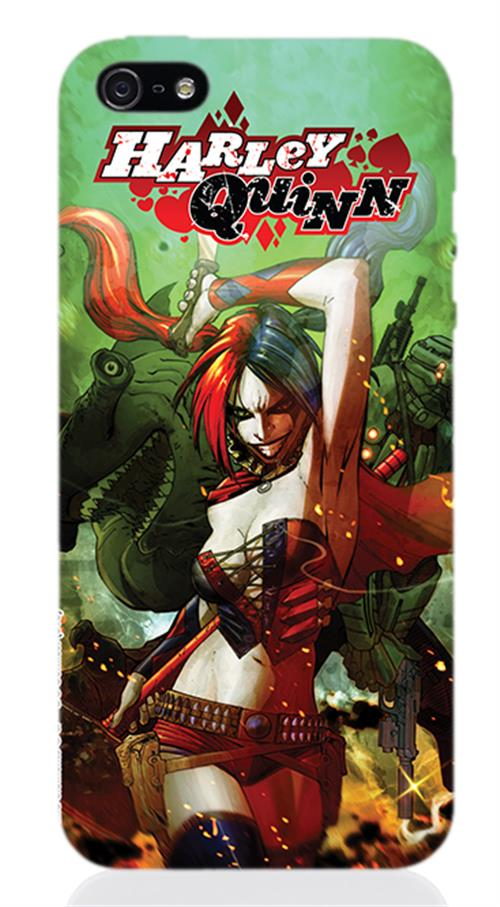Cover Iphone 5 Harley Quinn Rage Opaca
