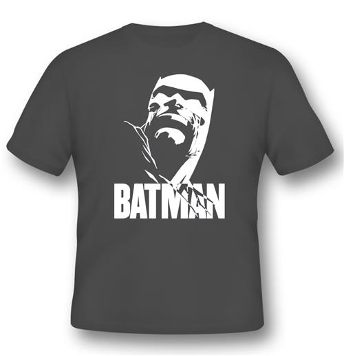 T-shirt Miller Dark Knight Face Grey