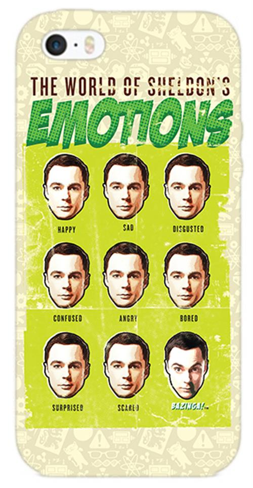 Cover Iphone 6-6S The Big Bang Theory SHELDON'S Emotions