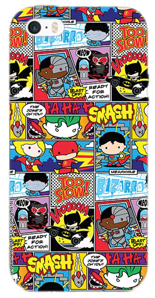 Cover Iphone 6-6S Heroes Comics Opaca