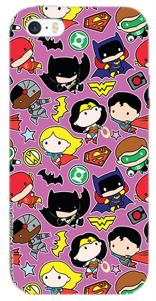 Cover Iphone 6-6S Dc SUPERHERO'S Figure