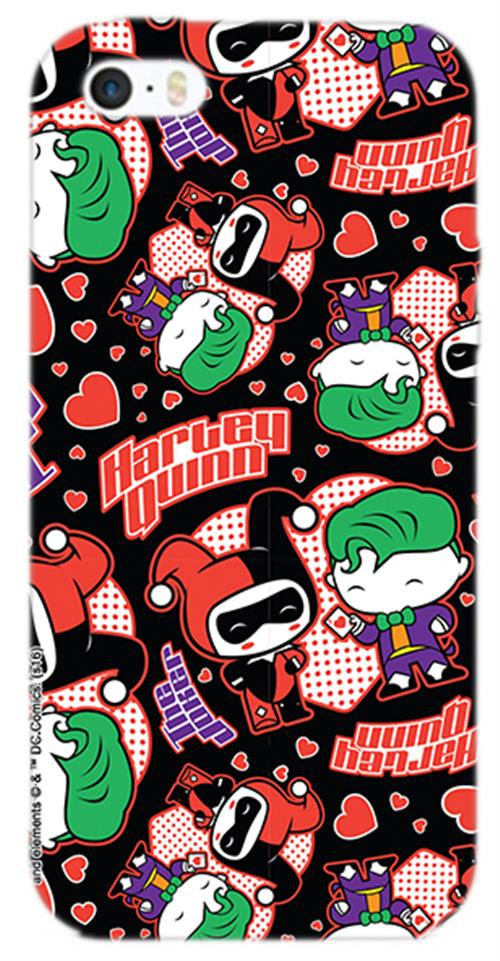 Cover Iphone 5 Joker And HARLEY'S Love Opaca