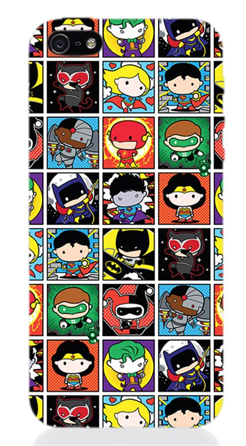 Cover Iphone 5 Dc SUPERHERO'S Box Opaca