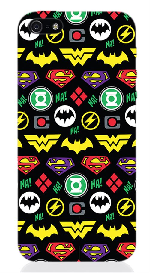 Cover Iphone 5 Dc Logos Opaca