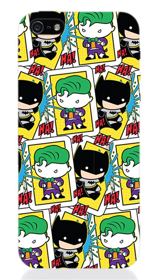Cover Iphone 5 Batman And Joker Splash Opaca