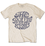 T-shirt The Rolling Stones Vintage 70's Logo