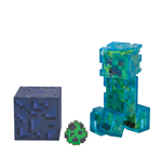Statuetta Minecraft Charged Creeper 8 cm