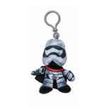 Star Wars - Portachiavi Peluche Captain Phasma 8 Cm