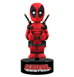 Marvel - Deadpool (Solar Powered Body Knocker Bobble Head Figure)