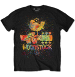 T-shirt Woodstock Splatter