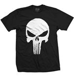 T-shirt Marvel Superheroes Punisher Jagged Skull