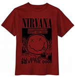 Nirvana - All Ages Flyer (T-SHIRT Unisex )