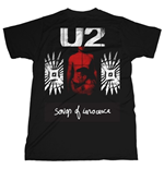 U2 - Songs Of Innocence Red Shade (T-SHIRT Unisex )