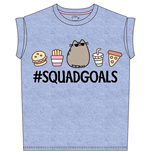 Pusheen - Squad Goals (T-SHIRT Donna )