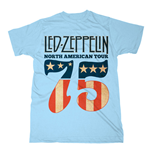 Led Zeppelin - North American Tour (T-SHIRT Unisex )
