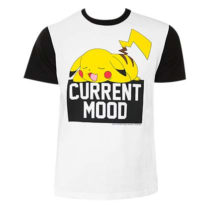 T-shirt Pokémon Pikachu Current Mood
