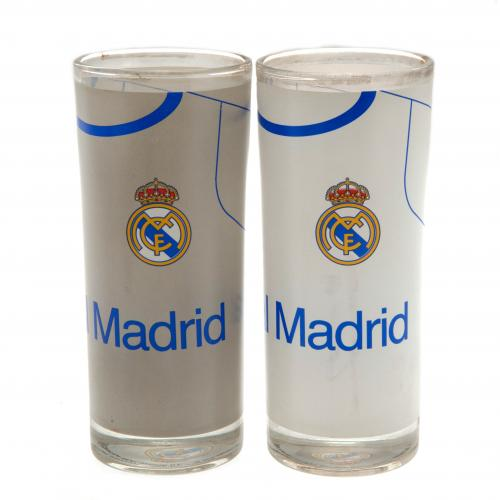 Set Bicchieri Real Madrid