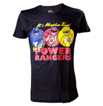T-shirt Power Rangers - It's Morphin Time
