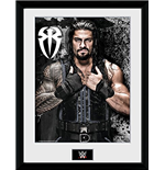 Wrestling - Wwe - Roman Reigns Photo (Foto In Cornice 30x40 Cm)