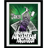 Batman Comic - Joker Cards (Foto In Cornice 20x15 Cm)