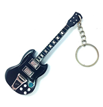 Keychain Wood - Ac / Dc - Angus Young (Portachiavi In Legno)