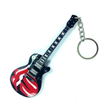 Keychain Wood - Rolling Stones - Tongue (Portachiavi In Legno)